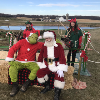 Santa with his Friends