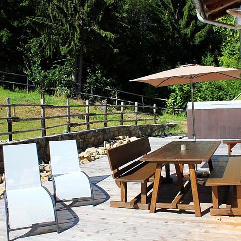 Terrasse Platzerer Jöchl
