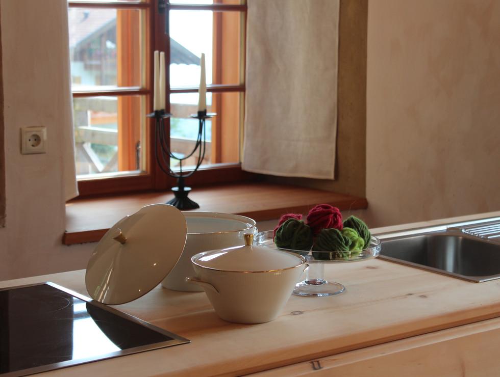 Küche nah Hof Neuhaus