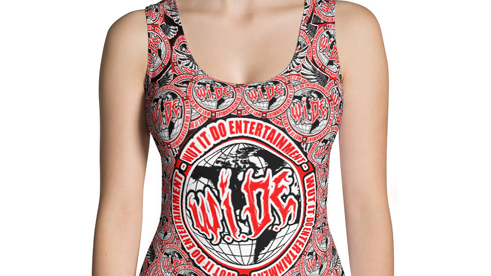 WIDE Sublimation Cut & Sew Tank Top
