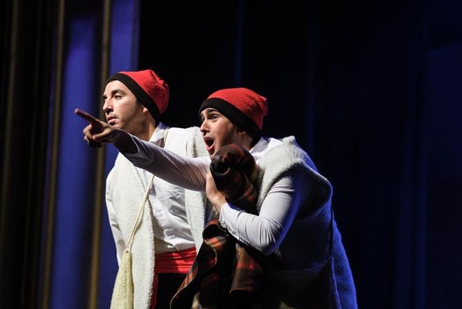 En Lluquet i en Rovelló, Els Pastorets dels Carlins, Manresa