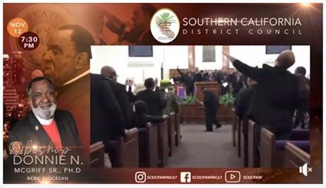 Bishop Donnie McGriff - Thursday Speaker
