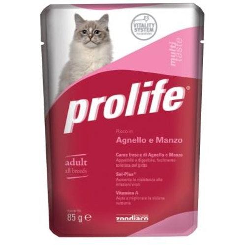 意大利 Prolife 成貓濕糧 羊肉,牛肉 85g