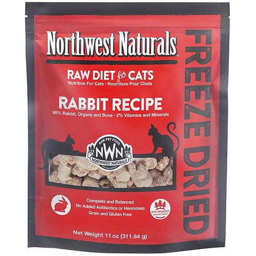 Northwest Naturals 脫水凍乾貓糧 -兔肉 11oz