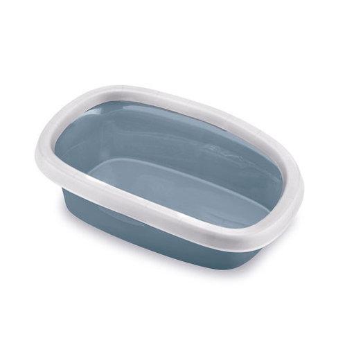 法國Zolux鋼藍色簡便貓砂盤(10L/20L)