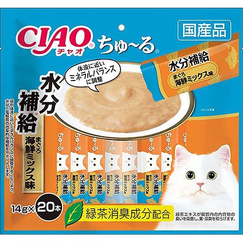 CIAO 水分補給吞拿魚海鮮雜錦醬