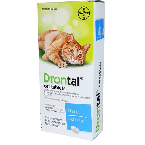 Bayer Drontal Plus 貓用杜蟲藥