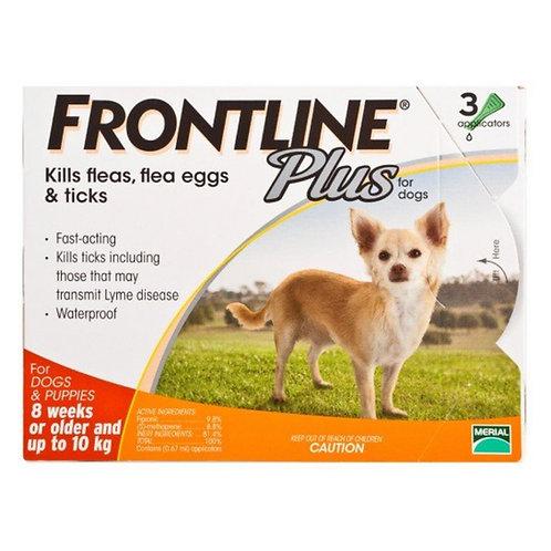 Frontline Plus 小型犬滴頸劑