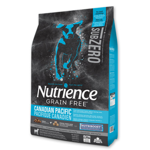 Nutrience無穀物- 凍乾三文魚六種魚全犬配方 (2.27KG/10KG)
