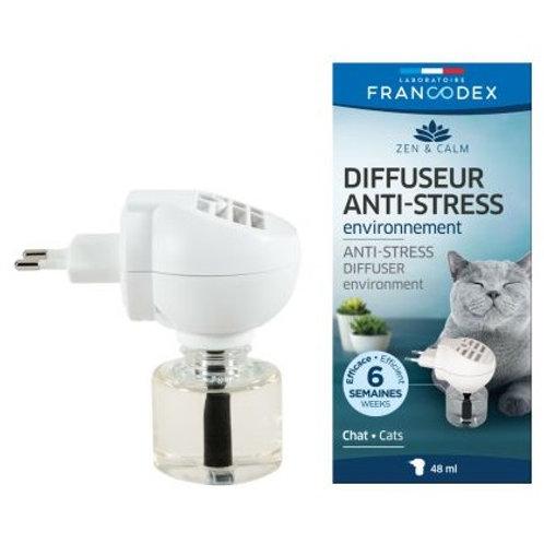法國 Francodex 貓用寧神香薰擴散器套裝 48ml
