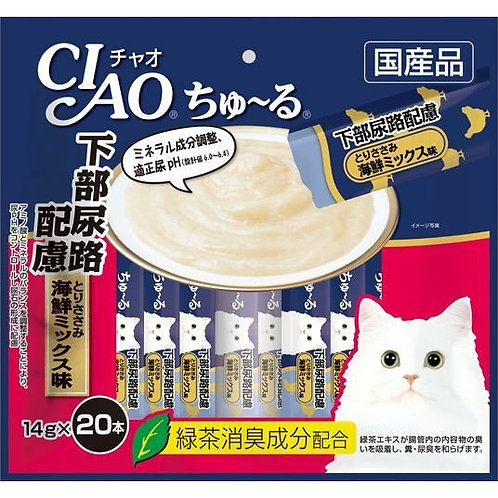 CIAO 防尿石雞肉海鮮雜錦醬
