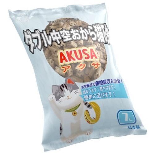 日本AKUSA 雙通豆腐砂 7L