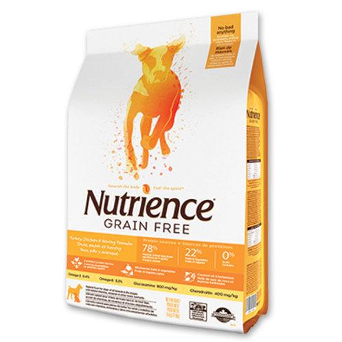 Nutrience無穀物-  火雞雞鯡魚全犬配方 (2.5KG/10KG)