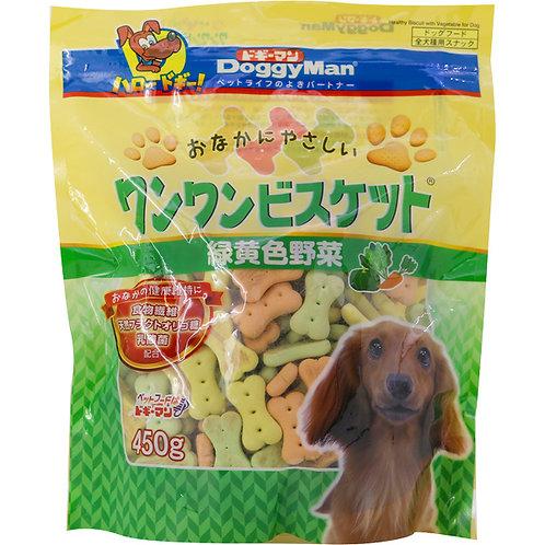 DoggyMan 野菜消臭骨型餅450g