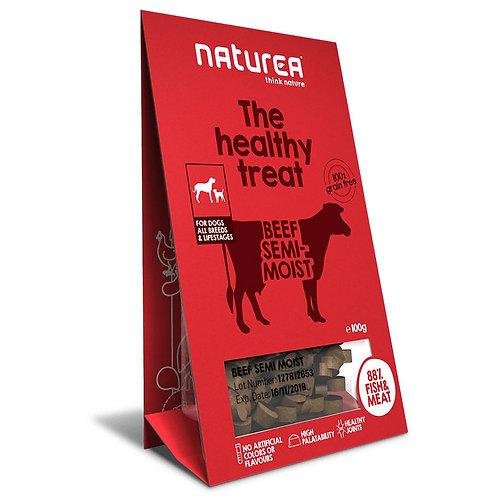 Naturea 鮮肉半濕小食 (犬用) - 牛肉 100g