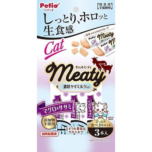Petio 貓用MEATY濃厚山羊奶小食-吞拿魚雞肉味
