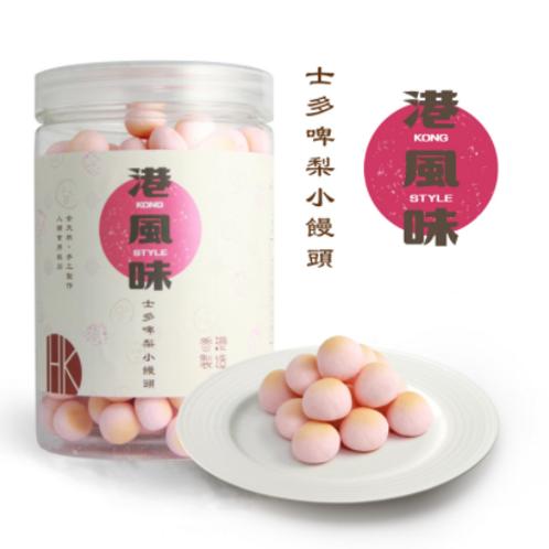 港風味 Kong Style - 士多啤梨小饅頭小饅頭 (貓犬可食用) 180G