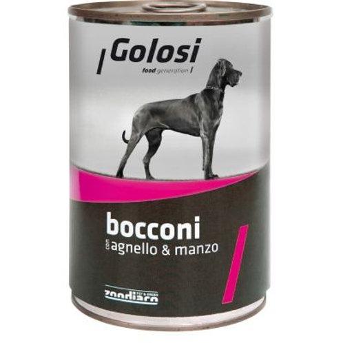 Golosi 狗罐頭 - 羊肉牛肉 405g