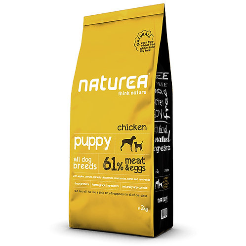 Naturea Naturals 全天然鮮肉糧-幼犬鮮雞肉配方 (2KG/12KG)