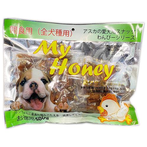 My Honey小食系列 - 雞肉纏小魚500g