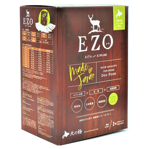 EZO 鹿肉糙米半濕糧 1KG