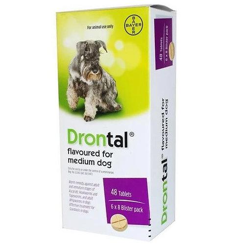 Bayer Drontal Plus 犬用杜蟲藥