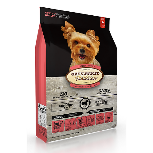 Oven-Baked 細粒成犬羊肉糙米配方 (5LBS/12.5LBS)