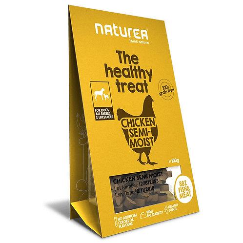 Naturea 鮮肉半濕小食 (犬用) - 雞肉 100g