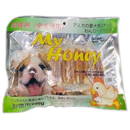 My Honey小食系列 - 雞包白牛根棒 500g