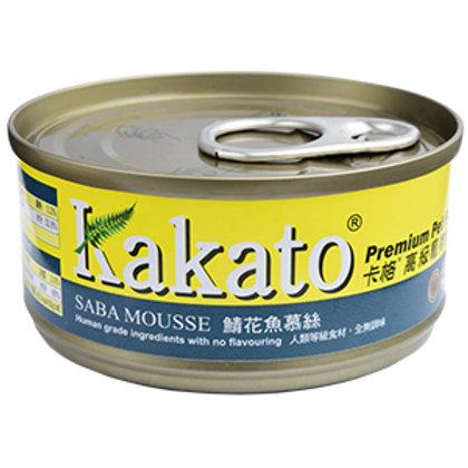 KAKATO 鯖花魚慕絲 70G