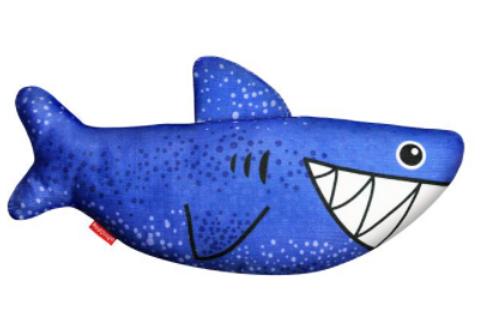 Red Dingo Durables 狗玩具 Shark