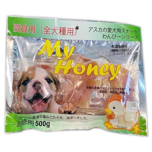 My Honey小食系列 - Q版軟雞片 500g