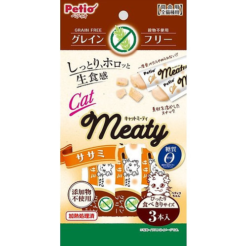 Petio 貓用無穀物MEATY肉醬小食-雞肉味