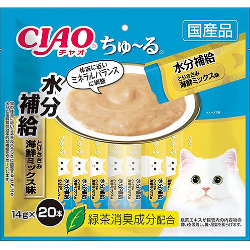 CIAO 水分補給雞肉海鮮雜錦醬