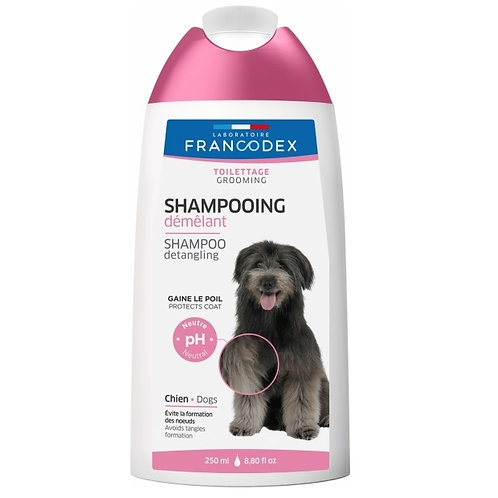 法國Francodex 犬用2合1護毛洗毛水 (250ml/1L)