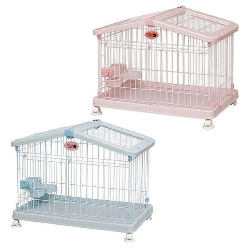 Iris 屋頂型寵物籠  (S/L)(粉紅色/粉藍色)