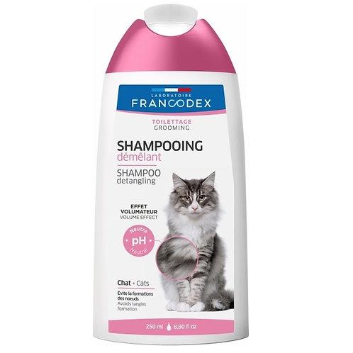 法國Francodex 貓用2合1護毛洗毛水 250ml