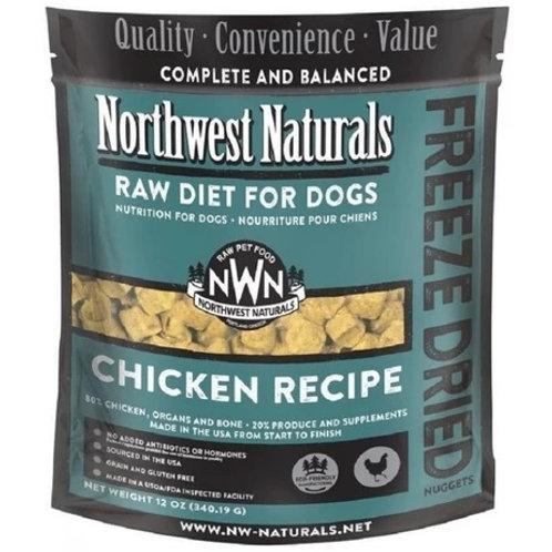 Northwest Naturals 脫水凍乾狗糧 - 雞肉 12oz