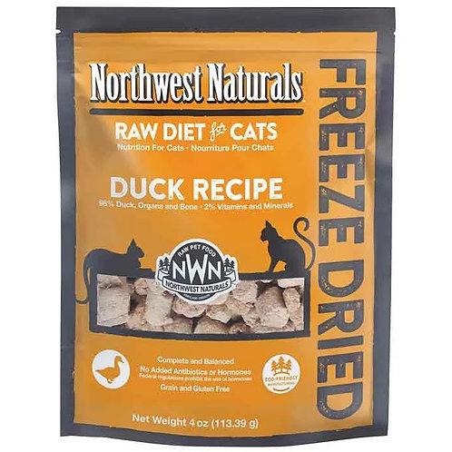 Northwest Naturals 脫水凍乾貓糧 - 鴨肉 11oz