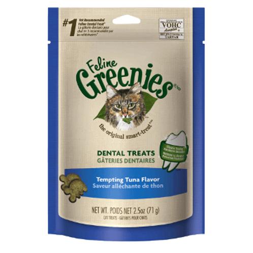 Greenies 吞拿魚味潔齒貓小食 4.6oz
