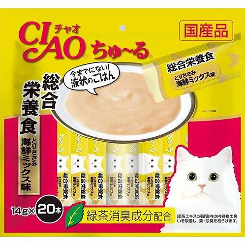 CIAO 雞肉海鮮雜錦醬