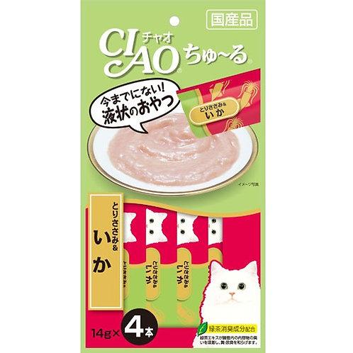 CIAO 雞肉魷魚醬