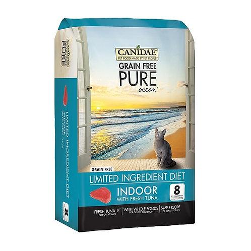 Canidae Pure Ocean 無穀物吞拿魚室內貓糧 (5LBS/10LBS)