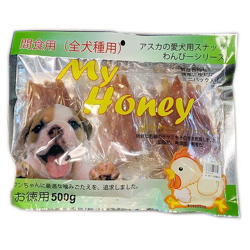 My Honey小食系列 - 雞片牛根棒 500g