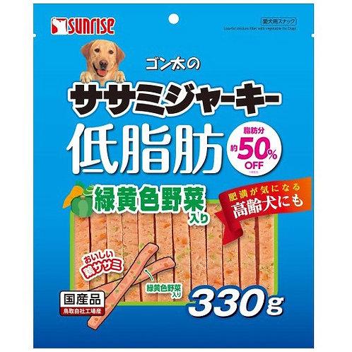 日本直送 Sunrise 狗小食 - 低脂雞片 (添加野菜) 330g