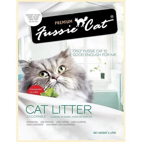 Fussie Cat 無味礦物砂 5L