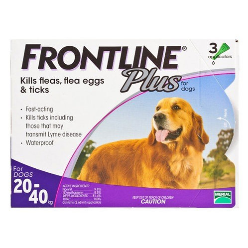 Frontline Plus 大型犬滴頸劑