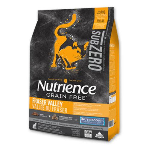 Nutrience無穀物-凍乾雞肉火雞海魚全貓配方 (2.27KG/5KG)