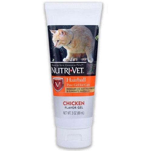 Nutri-Vet 雞肉味吐毛膏(含多種維他命) 3oz
