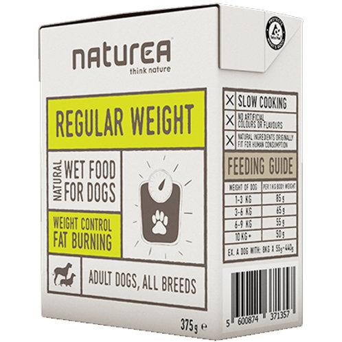 Naturea無穀物單一蛋白狗濕糧-體重管理(牛肉 ,胡蘿蔔)375g